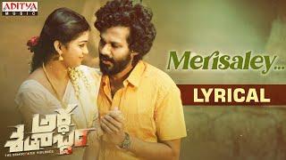 Merisaley Lyrical | Karthik Rathnam | Shankar Mahadevan | Rawindra Pulle | Nawfal Raja - ADITYAMUSIC