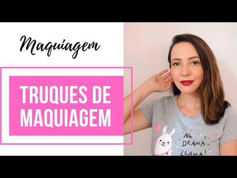 Truques de maquiagem para iniciantes | Dicas da Fê