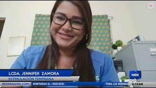 Entrevista a la Lcda. Jennifer Zamora, sobre la estimulación temprana