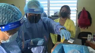 Municipio de Loíza vacuna a sus pacientes encamados contra el COVID-19