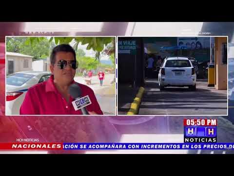 Taxistas de Comayagua se organizan y asignan flota al aeropuerto Palmerola
