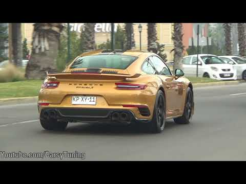 FIRST Porsche 991 Turbo S Exclusive Series in Chile