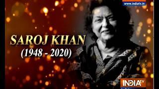 RIP Saroj Khan: Remembering everyone's beloved Masterji - INDIATV