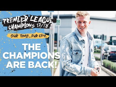 Players are back for Training | First session as Premier League Champions!