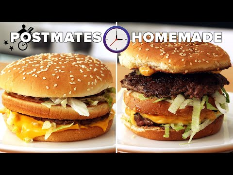 """Can I Make A Big Mac Faster Than My Postmate Delivers It"""" ? Tasty"""
