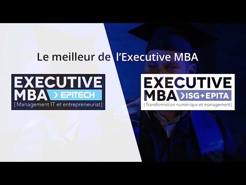 Le meilleur de l'Executive MBA Epitech et ISG+EPITA, 100% en ligne !