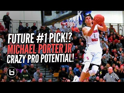 Future #1 NBA Draft Pick!? Michael Porter Jr GOES OFF at LSI! Crazy Pro Potential!