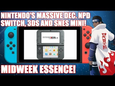 Midweek Essence! Nintendo LABO! Nintendo's BIG Dec. NPD, Switch Dominating Canada, Q&A + MORE!