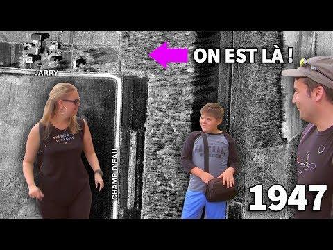 On cherche des vestiges du Bassin d'Anjou ! Promenade en gang ! Ruisseau-De Montigny