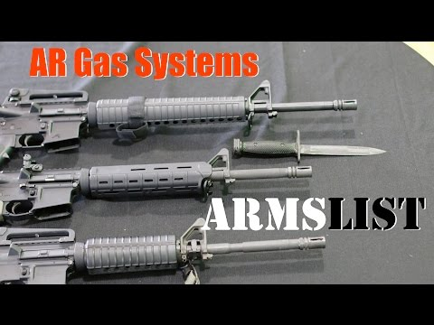 AR rifle gas systems and barrel lengths explained