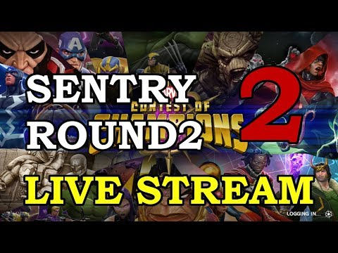 connectYoutube - Sentry 4-Star Arena Round 2 - Part 2   Marvel Contest of Champions Live Stream