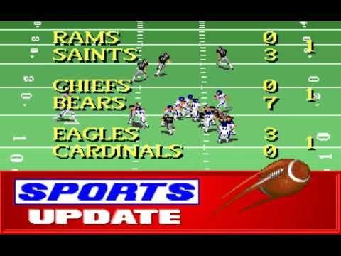 NFL Football (Week 16: Chargers - Raiders) (Distinctive Software) (MS-DOS) [1992] [PC Longplay]