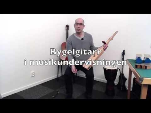 Bygelgitarr och Minibas i musikundervisningen