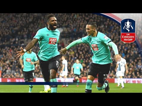 West Bromwich Albion 1-2 Derby County - Emirates FA Cup 2016/17 (R3) | Goals & Highlights