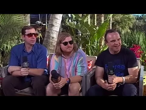 Future Islands Interview - VR180 - Coachella 2017