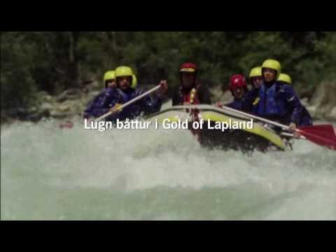 Lugn båttur i Gold of Lapland