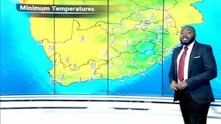 SA Weather | Monday, 18 May 2020 | #SABCWeather