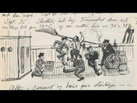 Johan Korens dagbok fra Antarktis 1897-98