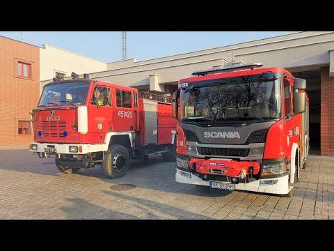 Nowy wóz bojowy dla gliwickiej straży pożarnej