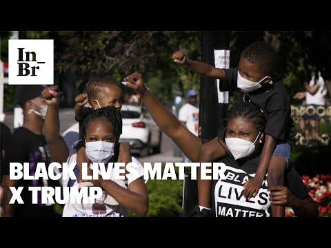 Black Lives Matter processa Trump contra violência policial