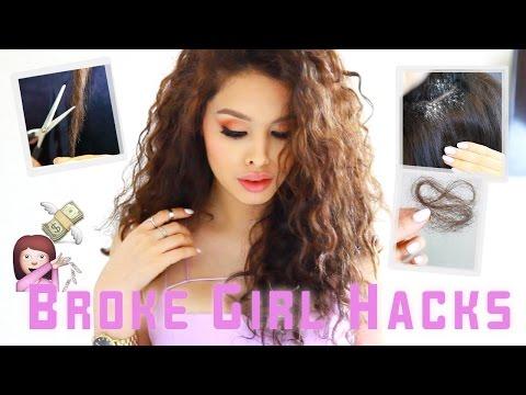 Hair Hacks Every Broke Girl Should Know