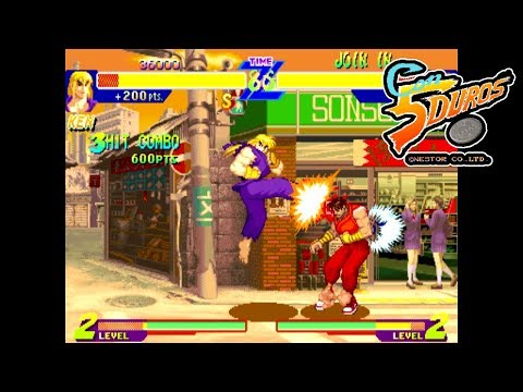 "[BIS] STREET FIGHTER ALPHA: WARRIORS' DREAMS (KEN) - ""CON 5 DUROS"" Episodio 85 (1cc) (CTR)"
