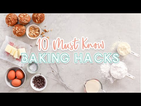 10 Life-Changing Baking Hacks That You NEED To Know!