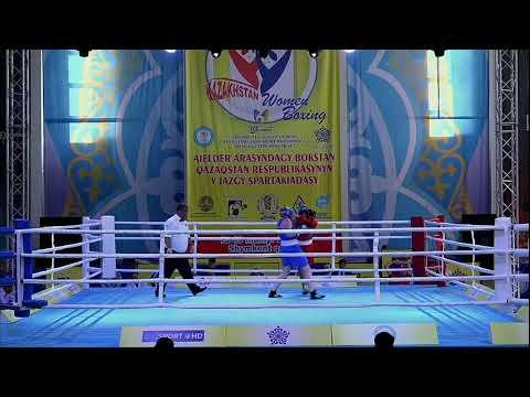 V Республиканская спартакиада по боксу среди женщин, г. Шымкент (14.05.2019).