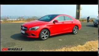 Mercedes Benz CLA200 :: WalkAround :: ZigWheels