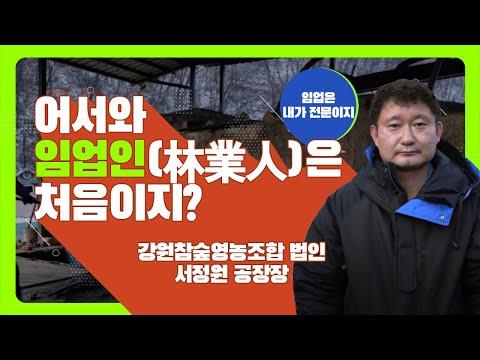 [#어서와??, 임업인은 처음이지?] 강원참숲영농조합 법인 서정원 공장장??