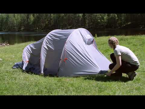 How to set up 6078 Trollhetta tunnel 4 pers Tent