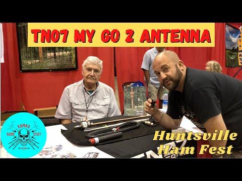 TN07 My Go 2 Antenna   Huntsville Ham Fest Interview