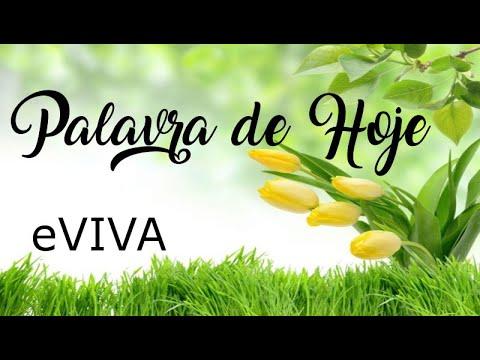 PALAVRA DE HOJE 11 DE MAIO 2020 eVIVA MENSAGEM MOTIVACIONAL PARA REFLEXÃO JOSUÉ 1 9 BOM DIA!