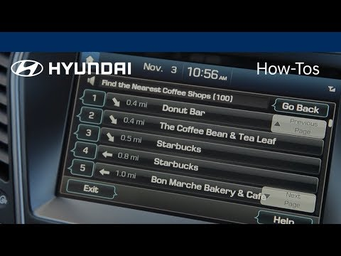 How to Use Voice-Command Navigation - Hyundai Insider