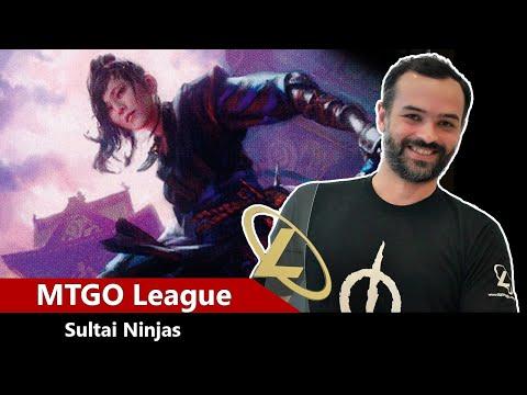 MTGO Legacy League - Sultai Ninjas | Ep. 07