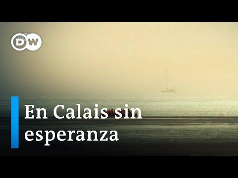 Migrantes arriesgan su vida en el Canal de la Mancha