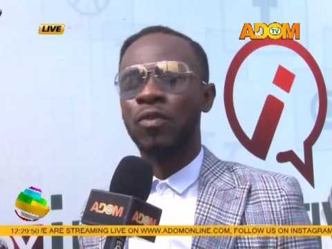 Okyeame Kwame says Working With His Wife Has Been Really Cool on Adom TV (22-2-17)