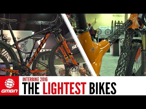 The Lightest Bikes At Interbike 2016