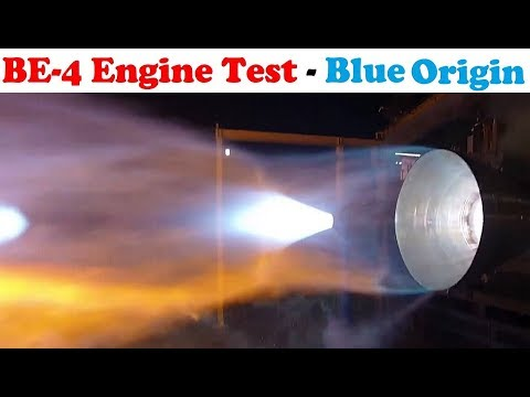 connectYoutube - BE-4 Engine Test - Blue Origin