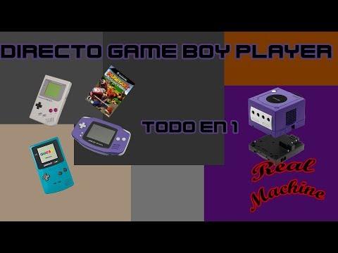 Directo Game boy player 3 Catalogos en 1 sola maquina