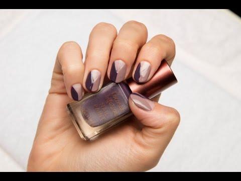 Barry M Fashion Week Minimalist Nail Art Tutorial
