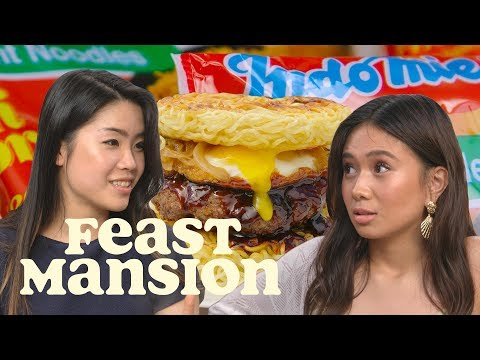 Feast Mansion S1: E#13 - NIKI and Inga Lam Share Indomie Noodle Hacks | Feast Mansion