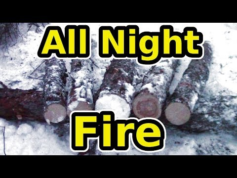 Learn The Siberian All Night Log Fire