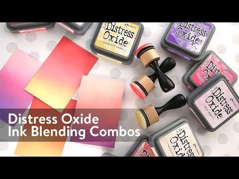 Distress Oxide Ink Blending Color Combinations 1