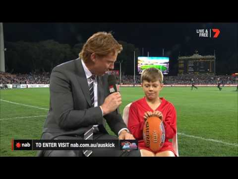 2017 NAB AFL Auskicker of the Year – Rd 5 Nominee