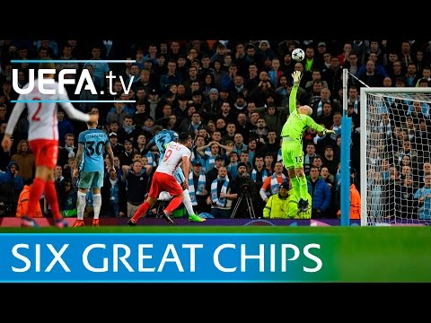 Six great UEFA Champions League chips featuring Falcao, Messi & Lampard