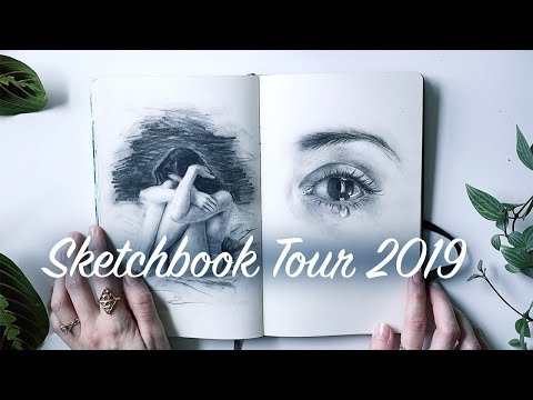 Sketchbook Tour / Flip Through 2019
