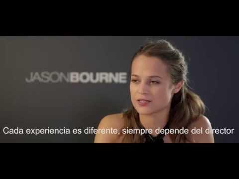 Jason Bourne - Encuentro con Alicia Vikander