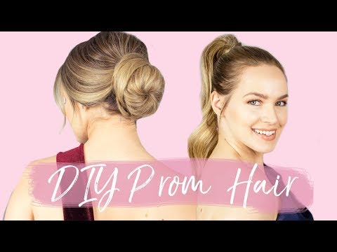3 DIY Prom Hairstyles for Long Hair – KayleyMelissa