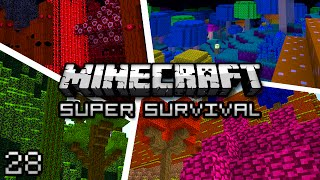 Minecraft: Super Modded Survival Ep. 28 - EVIL PUMPKIN TEMPLE